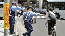 日本治安太好警察太多 開始捉遊客踩單車犯例?