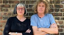 Grayson and Philippa Perry: 'we never shout at each other, or we'd get very down'
