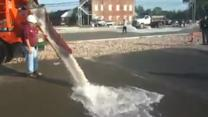 Magic Concrete Absorbs Gallons of Water