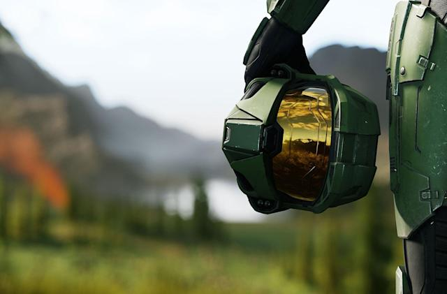 I never thought I'd see Master Chief drive around Northumberland