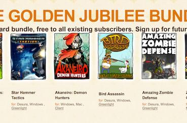 Golden Jubilee Bundle offers indie value, keys to newsletter subscribers