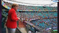 Germany's Biggest Fan At The World Cup: Angela Merkel