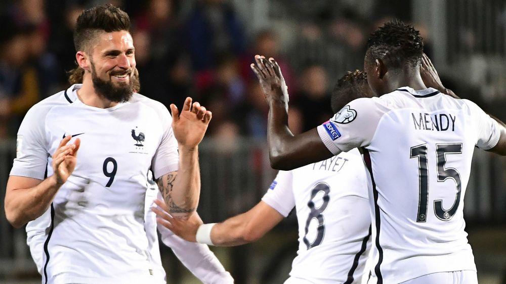 Equipe de France, Benjamin Mendy ménagé