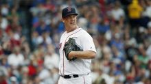 Red Sox pitcher Steven Wright rides the train to Fenway just like fans do
