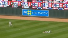 Steven Souza turns embarrassing misplay into an endearing moment