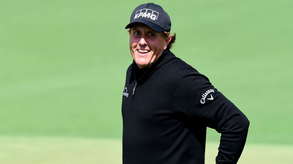 Mickelson makes Augusta experience count