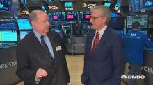 Veteran trader Art Cashin on the markets: 'We're a tiny b...
