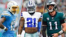 Week 7 Fantasy Football Lames: Mack, Michel, Zeke to slam into walls