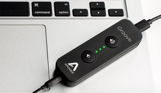 Apogee's tiny USB headphone amp is now available for $295
