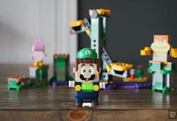 Lego adds Luigi and collaborative play to its Super Mario World line