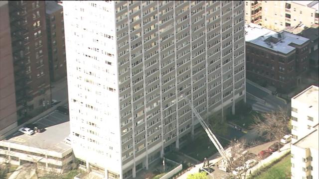 RAW: High-rise fire in Uptown
