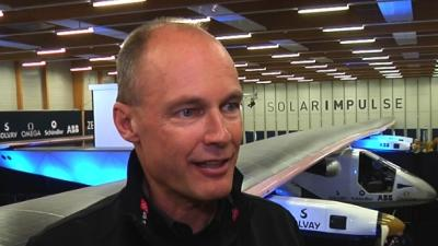 Swiss Unveil New Solar Plane for Global Flight
