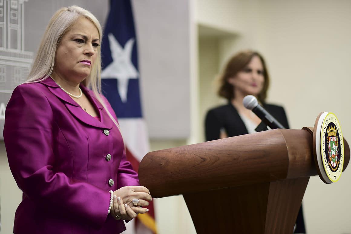 Puerto Rico governor endorses Trump