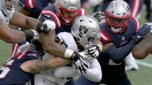 Mistakes send sloppy Raiders to 36-20 loss to Patriots