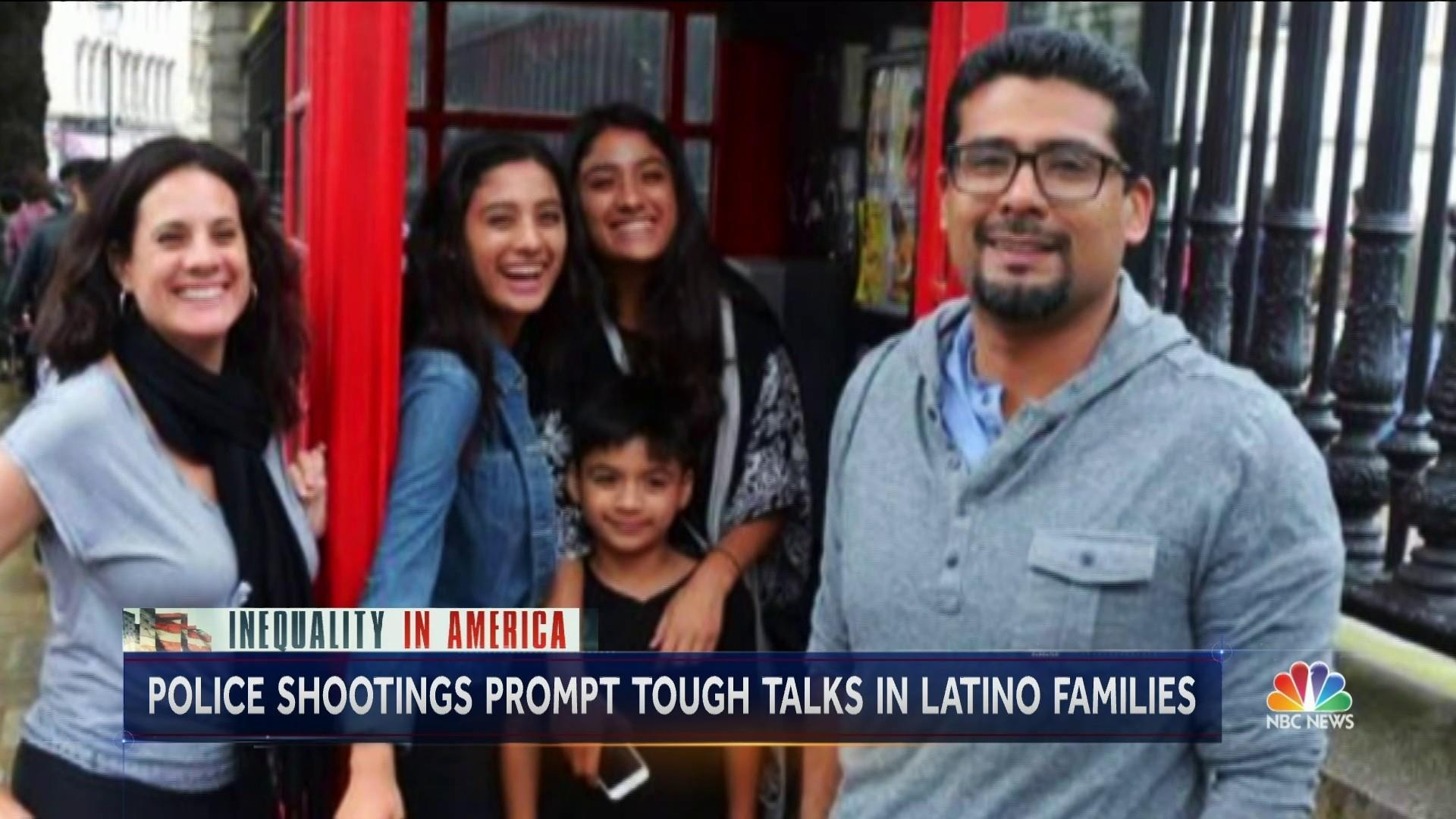 'The Talk': Latino parents address what to do when stopped by police