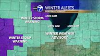 Chicago Weather: Winter storm warning for Lake, McHenry counties