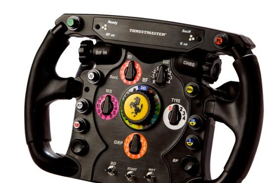 Thrustmaster's Ferrari F1 Wheel Add-On takes you from zero to hero in $200