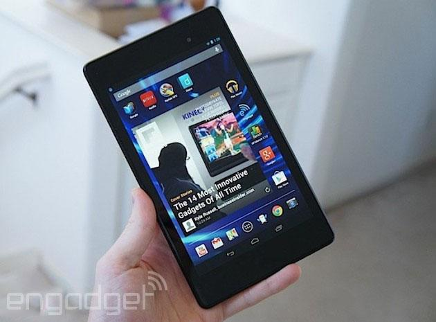 Nexus 7 purchases now come with £50 Play Store credit
