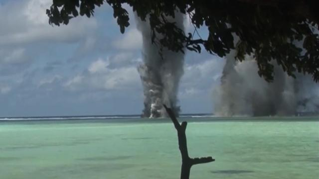 WWII explosives destroyed in South Pacific