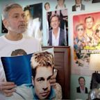 George Clooney Reveals Brad Pitt Bedroom Shrine In Cheeky Charity Ad