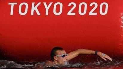 JO Tokyo 2021: «Je ne comprends pas», favori pour l'or, Olivier s'est écroulé sur le 10km en eau libre