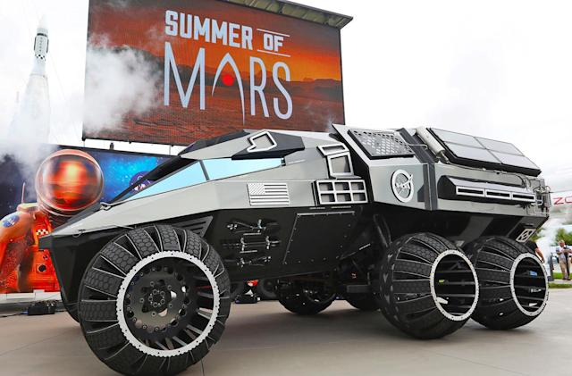 NASA's Mars 2020 concept is perfect for Space Batman