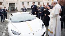Lamborghini gives Pope Francis his fastest popemobile yet