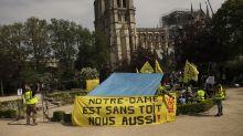Tras Notre Dame, piden ayuda para pobres de Francia