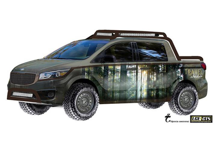 Automakers Turning Commuter Cars Into Off Roaders For Sema