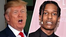 Trump says he is seeking the release of rapper A$AP Rocky at Melania's request