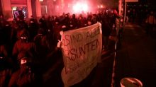 Sechs Polizisten bei Protest gegen Verbot linker Plattform in Leipzig verletzt