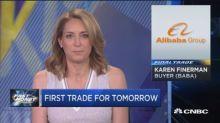 Final Trade: XLU, BABA & More