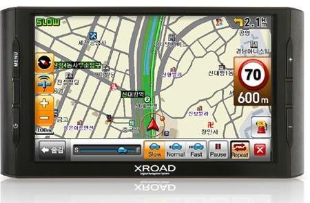 XRoad V7 3rd version GPS unit headed for Korea