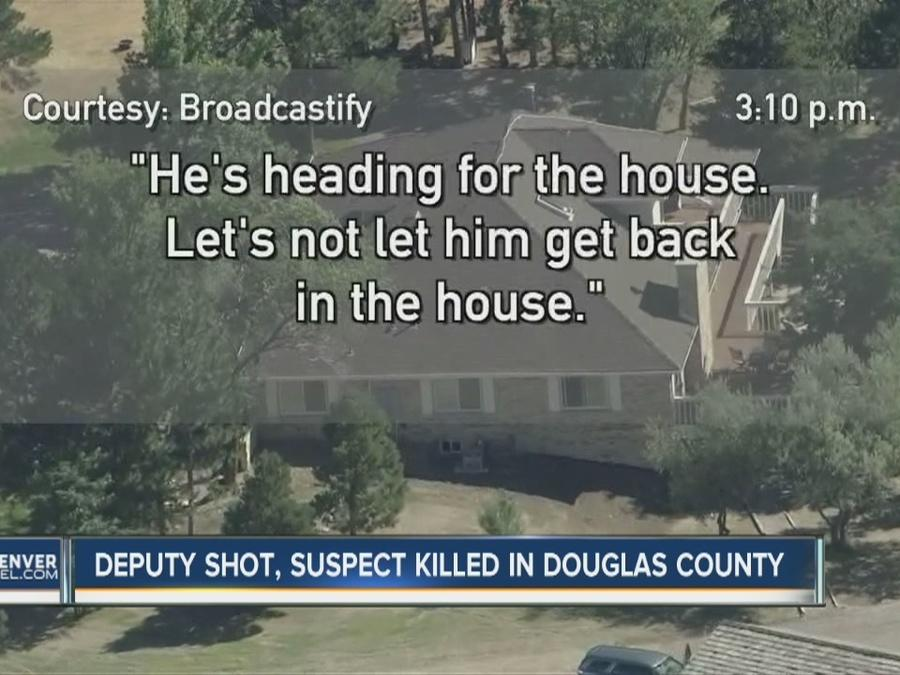 Calls from Douglas County deputies during Parker shooting