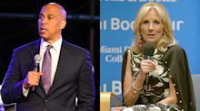 Cory Booker calls Jill Biden's advice to voters 'frightening'