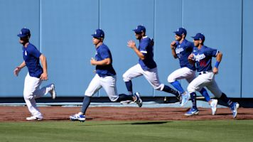 Dodgers are back but baseball still seems far