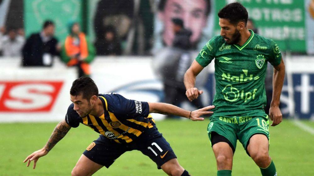 Sarmiento y Central empataron en un muy buen partido