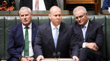 Morrison denies election budget slush fund