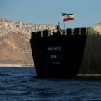 Iranian tanker at center of standoff with West leaves Gibraltar, shipping data shows