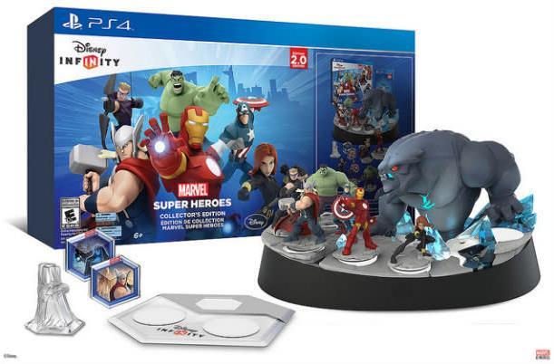 Hulk smash Disney Infinity: Marvel 2.0 on PS4, PS3