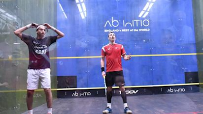 England Squash beat Rest of the World in mixed team thriller