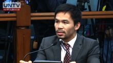 Sen. Pacquiao, ready to defend measures to reimpose death penalty
