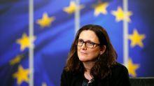 America Last? EU says Trump is losing on trade