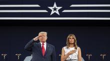 ¿Por qué ha sido tan comentado este vestido de Melania Trump?