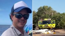 'Love you mate': Friends pay tribute to pilot, 40, killed in helicopter crash