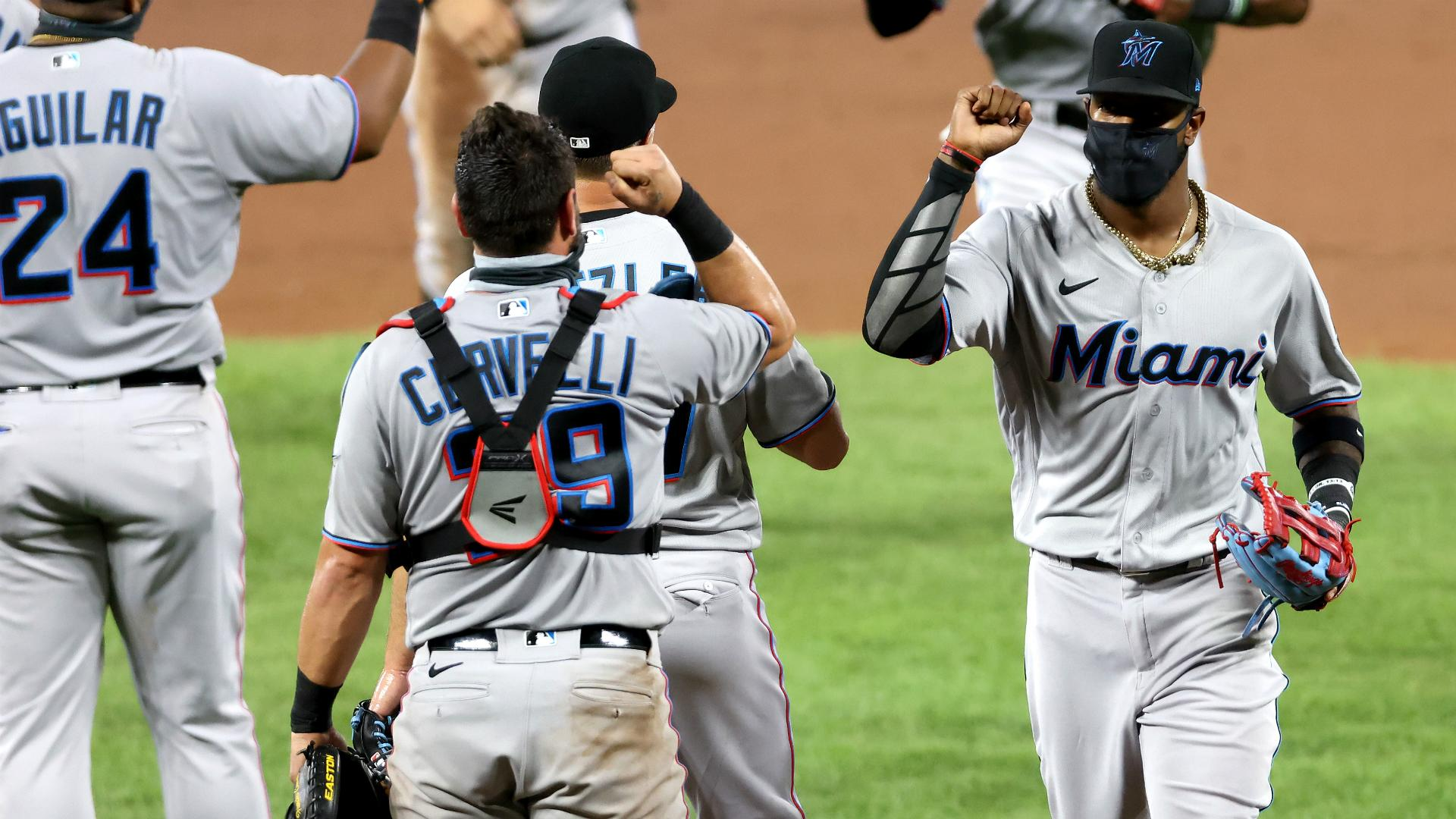 Marlins blank Orioles in first appearance since Opening Day, Nats also return from COVID-19 absence