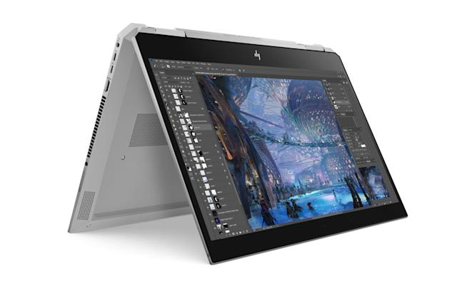 HP's convertible ZBook x360 features a six-core Xeon CPU