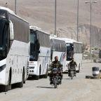Syria rebels begin Ghouta evacuation: state media