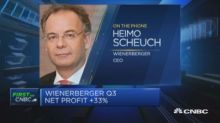 Wienerberger will 'certainly' pursue M&A activity, says C...