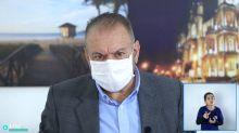 O dia em que o prefeito de Itajaí sugeriu tratar tratar covid-19 com aplicação de ozônio via retal